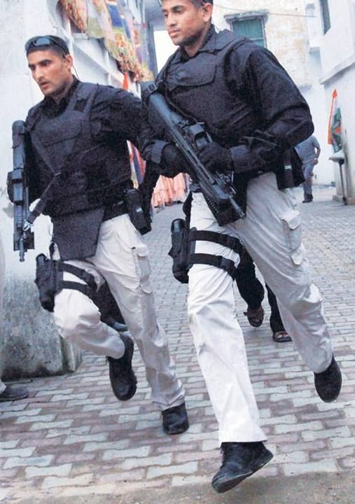Indian Secret Service - The Special Protection Group (SPG).