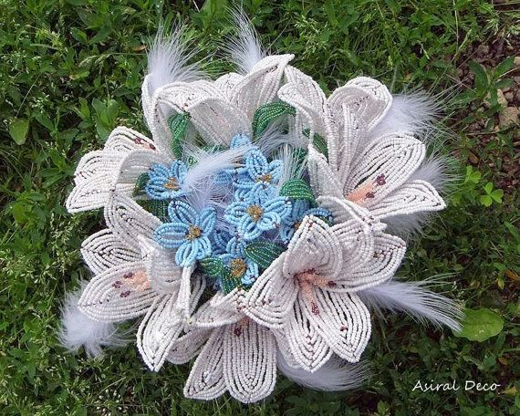 Bouquet of lilies end remember me flowers by AsiralDeco