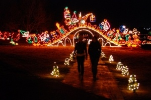 ... holiday light extravaganza featuring more than one million light bulbs