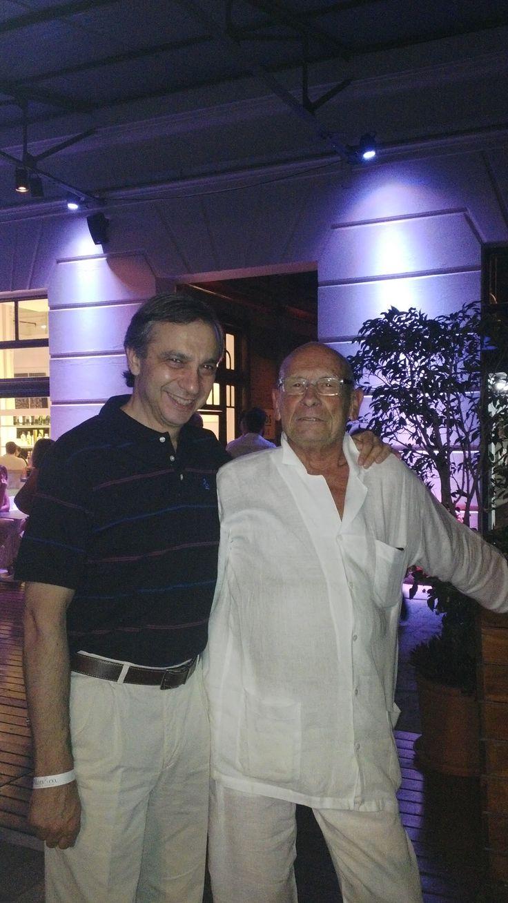 Carlos Romero y Alfred Fellinger.  Obra Silos Club Dorrego.