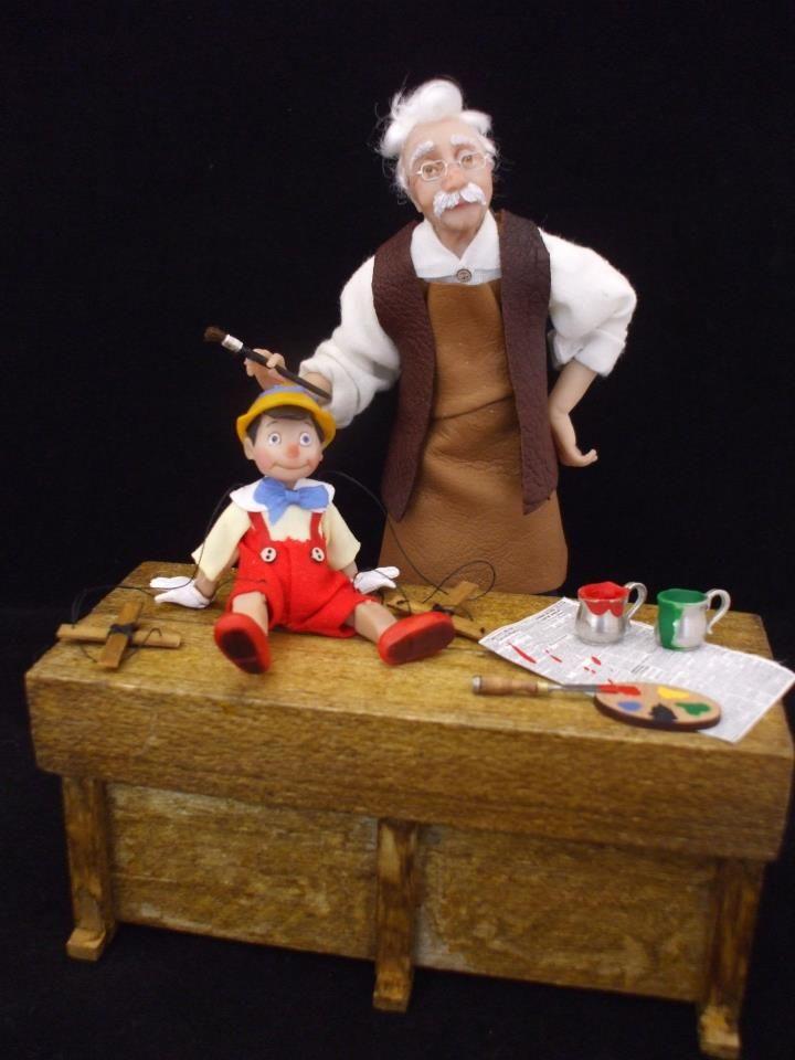 (1) Julie Campbell Doll Artist