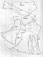 Historia mody - Fashion by Kajani - Godey's Lady's Book February 1858 Ladies Jacket