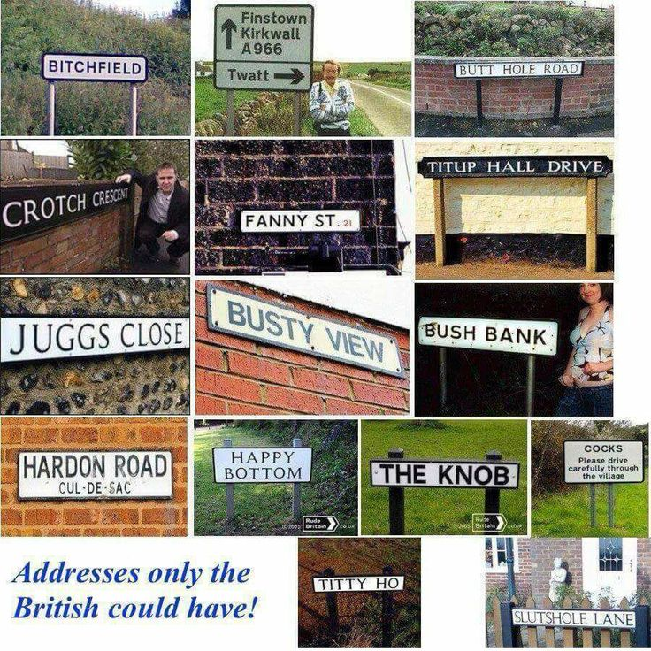 British Road Signs.