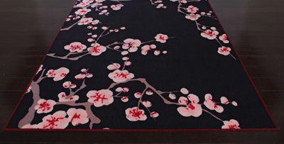 Cherry Blossom Floor Rug