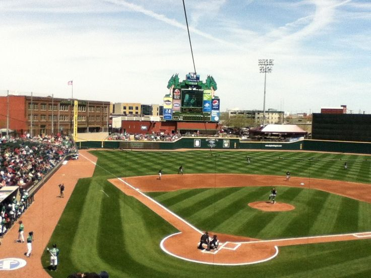 Fifth Third Field Dayton dragons, Minor league baseball