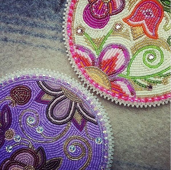 House of Hawi Medallions #beaded