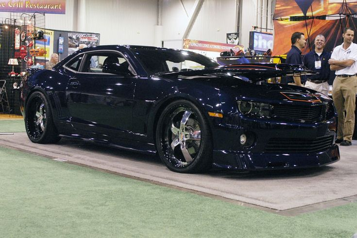 Custom 2010 Chevy Camaro SS Presented by Performance Supply Innovations at SEMA