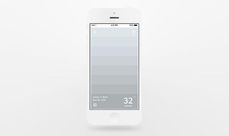 Commute Transit App—Vancouver design studio iPhone App UI Design