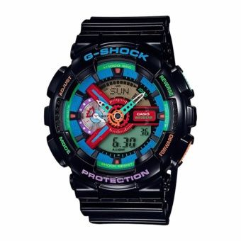 Buy Casio G-Shock Crazy Colour Series Black Resin Band Watch GA110MC-1A online at Lazada. Discount prices and promotional sale on all. Free Shipping.