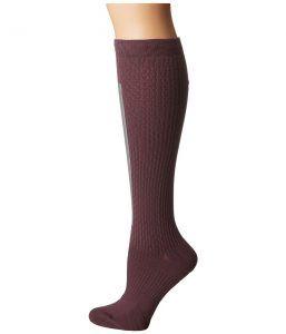 Nike High Intensity Over the Calf Training Socks (Purple Shade/Metallic Silver/Bleached Lilac) Women's Knee High Socks Shoes