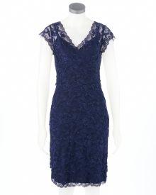 Cap Sleeve Lace Dress-Online Exculsive