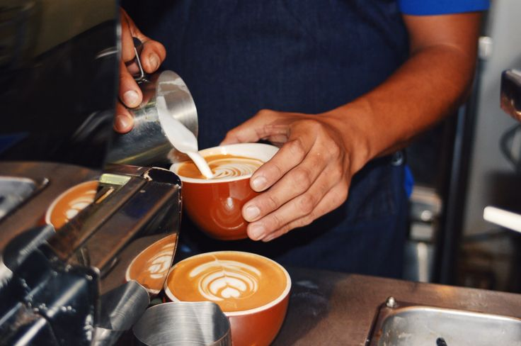 Lattes on Rose Ave. | Groundwork Coffee Co.