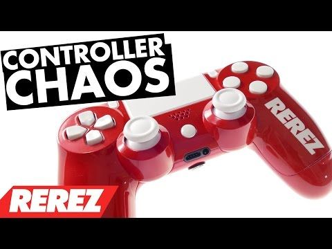 Modded PS4 Controller Chaos Review - http://freetoplaymmorpgs.com/ps4/modded-ps4-controller-chaos-review