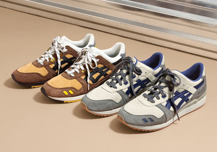 "J.Crew x Asics Gel Lyte III ""Tin Roof"" & ""Dirt Road"""