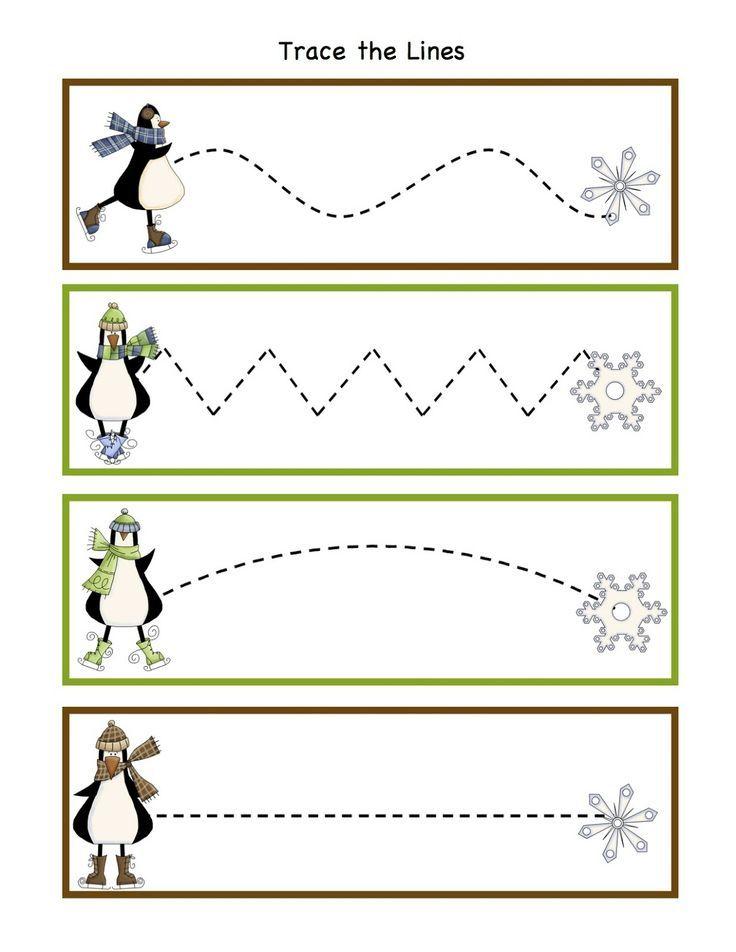 penguin worksheets for preschool   Winter Activity Printables   Preschool Printables: Penguin Winter Fun