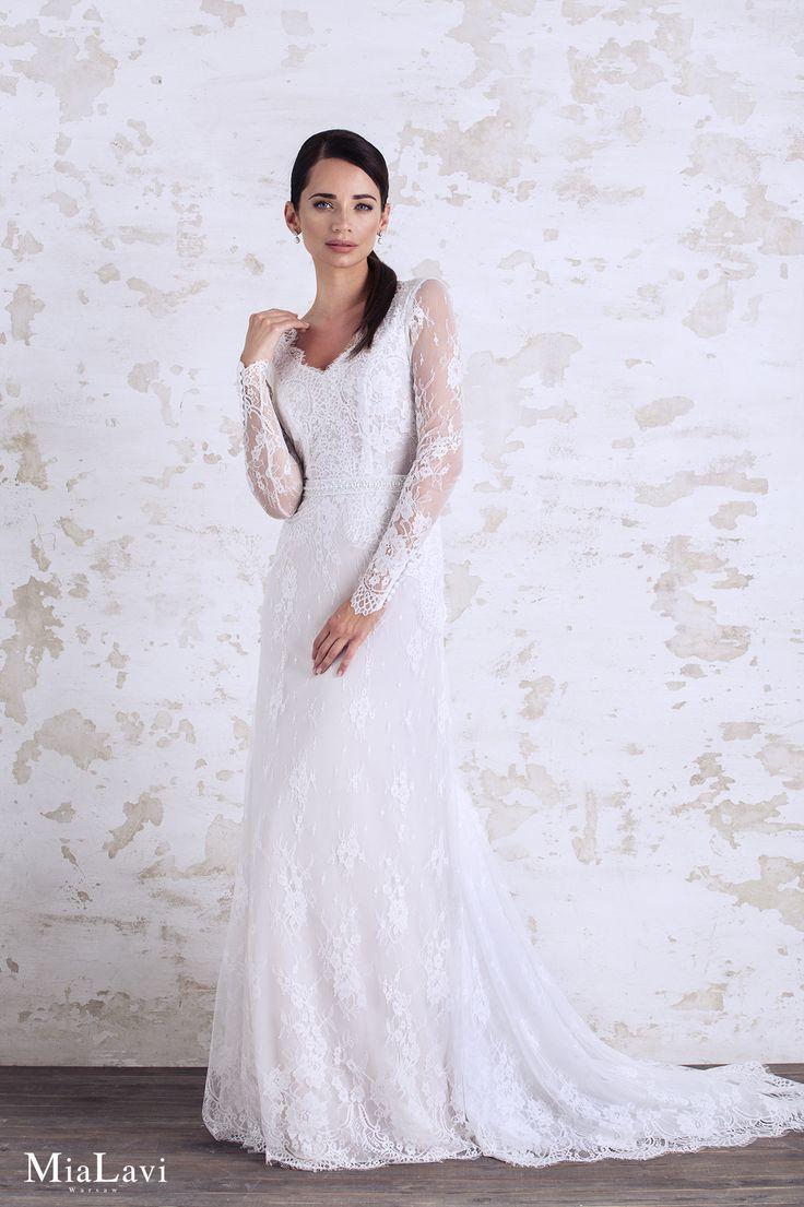 Romantic wedding dress 1719, Mia Lavi 2017