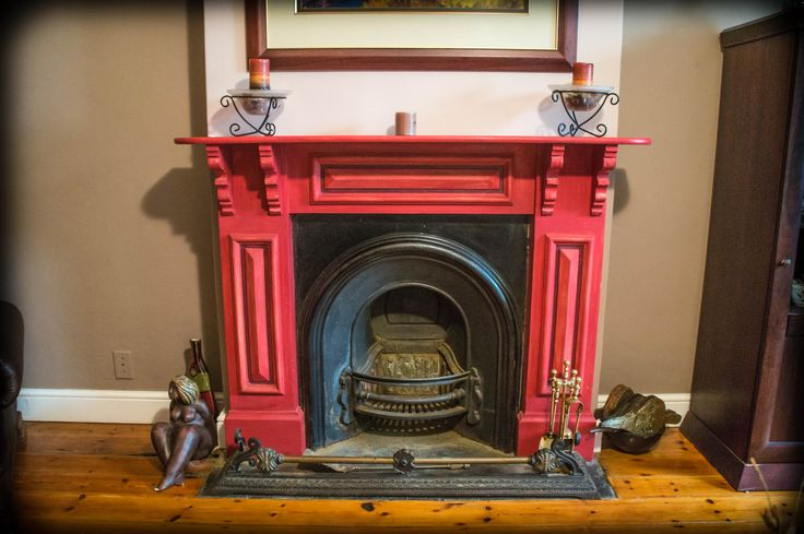 Lovely classic fireplace for the colder months in this classical Paarl home.