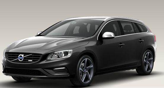 Volvo 2014 V60 D6 AWD Plug-In Hybrid Savile Grey   Volvo ...