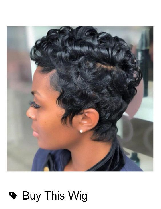 Beautiful short hairstyles wigs for black women lace front wigs human hair wigs …