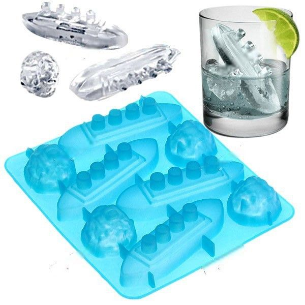 Titanic Ice Cube Trays #Barbeque-and-Picnic #Under-$50 #Gifts-For_Gag-Gifts