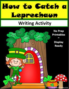 How to Catch a Leprechaun is a fun and engaging writing activity. The graphic organizers are scaffolded for all levels of writers, and the final draft templates are display-ready to show off the students' writing. It includes: 1 Brainstorm Graphic Organizer 4 Paragraph Graphic Organizers 1 Primary lined 2 pg template 1 Lined 2 pg template 1 Blank 2 pg template