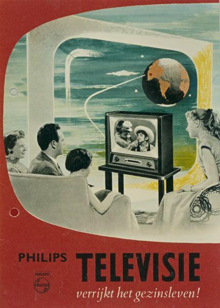 Philips-brochure, 1954