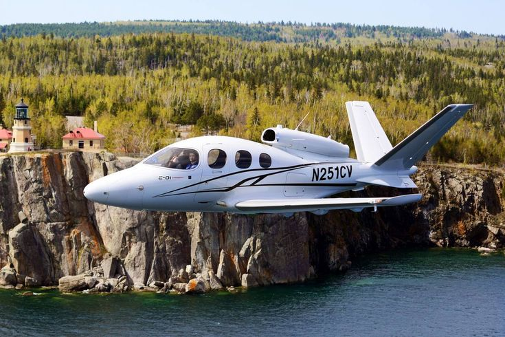 Cirrus' new SF50 Vision costs just $2 million—a low price point for a personal jet.