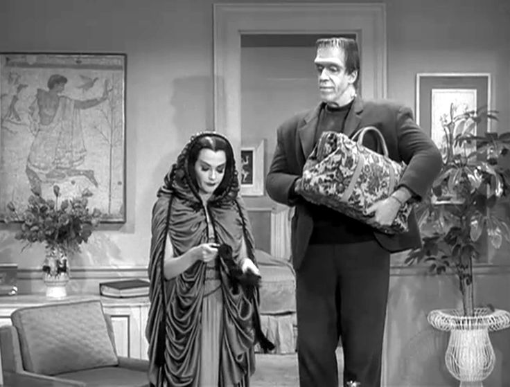 "munsters | THE MUNSTERS - Jack Marshall - The Standells -Yvonne De Carlo - ""Far ..."