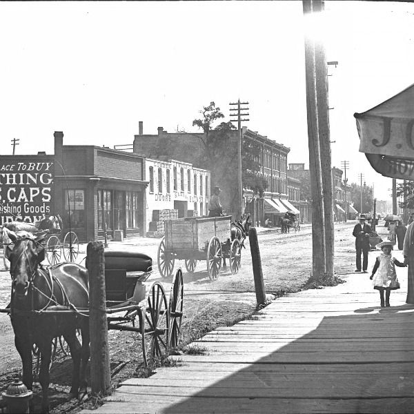 Corktown History: Michigan and Trumbull, 1880's