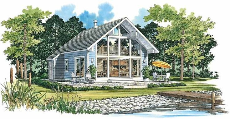 Eplans contemporary modern house plan vacation retreat for Www eplans com house plans