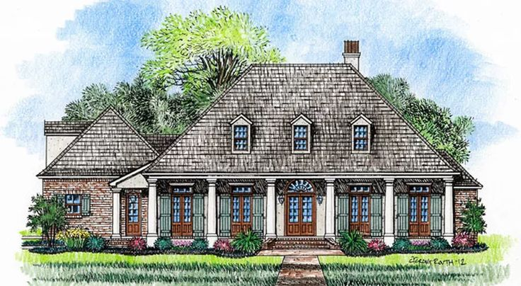 1614 best a wolfie house images on pinterest home for Melrose house plan