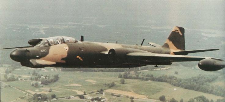 B-57 Canberra | Kevs Military Aviation Pics: Martin B-57G Canberra