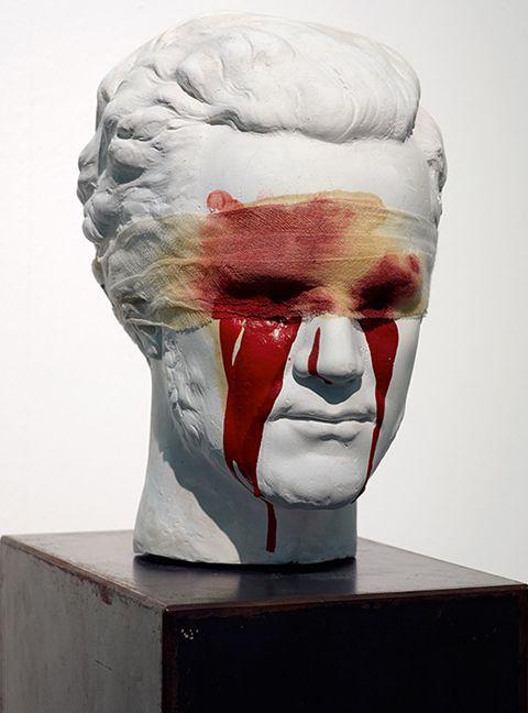 Hermann Nitsch, Oedipus, 1990