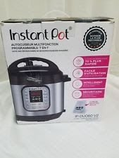 Instant Pot IP-DUO60 7-in-1 Multi-Functional Pressure Cooker 6Qt/1000W