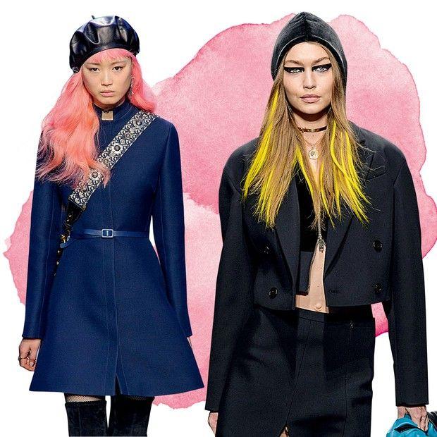 Tinta fresca: entenda o hype do cabelo colorido na beleza