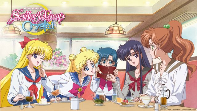 New image of the Inners in Pretty Guardian Sailor Moon Crystal, is it just me or do their mouths look a little small?