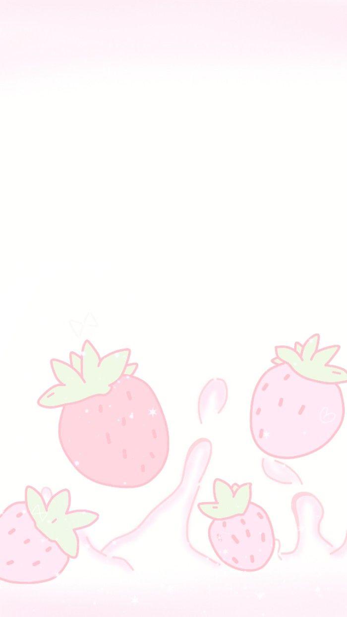Cute Kawaii Anime Wallpaper Ichigo Milk Fresas Frutillas Etc