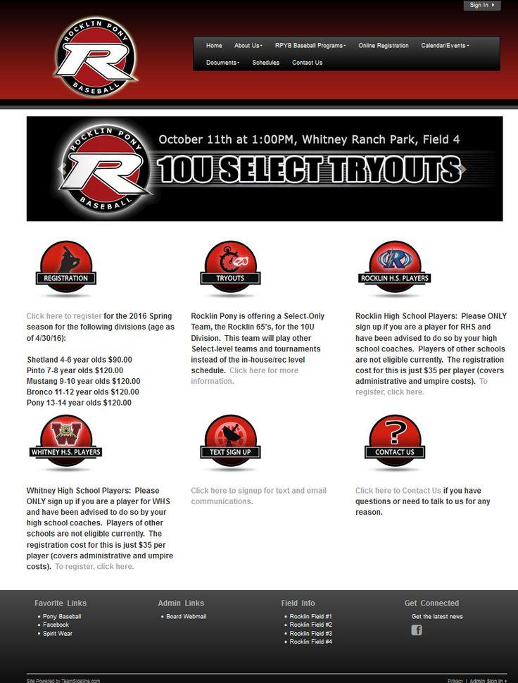 Rocklin Pony Baseball