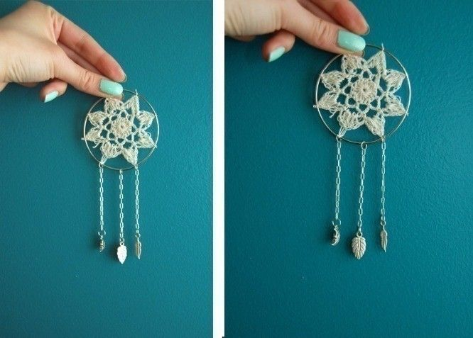 Mini Dream Catcher  •  Free tutorial with pictures on how to make a dream catcher in under 30 minutes