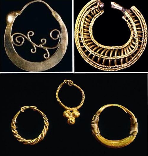 In the Iberian Peninsula (Spain), the Iberians had a wide knowledge about gemstones, which they used in a variety of artistic works. In the second century bC., the Iberian tribes already had their own develop jewelry. Other great jewelers of the Iberian peninsula were the Castreños, indigenous inhabitants of the northwest of the actual Spain. The abundance of gold in this área facilitates the appearance of the goldsmith
