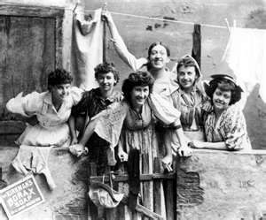 This links to a great series of pictures of Irish immigrants - Irish Women Immigrants