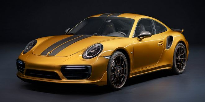 Limited Edition Porsche 911 Turbo S Exclusive