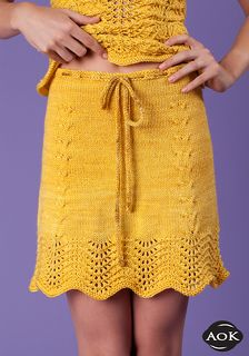 summer knit skirt