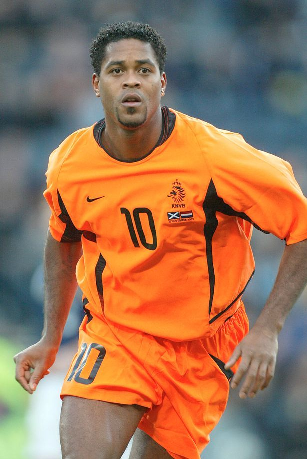 Patrick Kluivert. Holland.