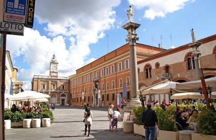 ravenne Plaza del Popolo ravena beauté