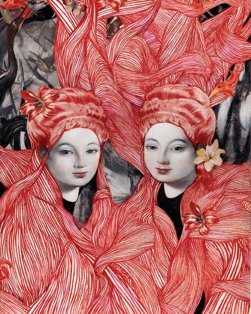 The Oracles by Steven Tabbutt #twin #doppelganger - Carefully selected by GORGONIA www.gorgonia.it