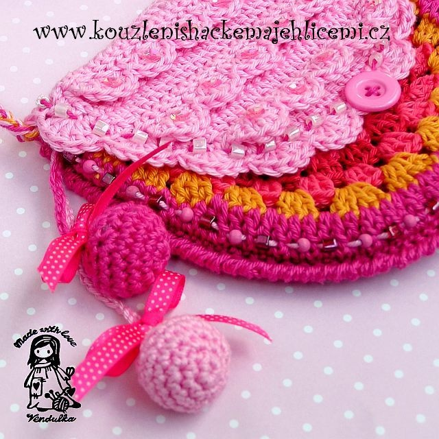 Handmade crochet bags and purses Knit and crochet Pinterest