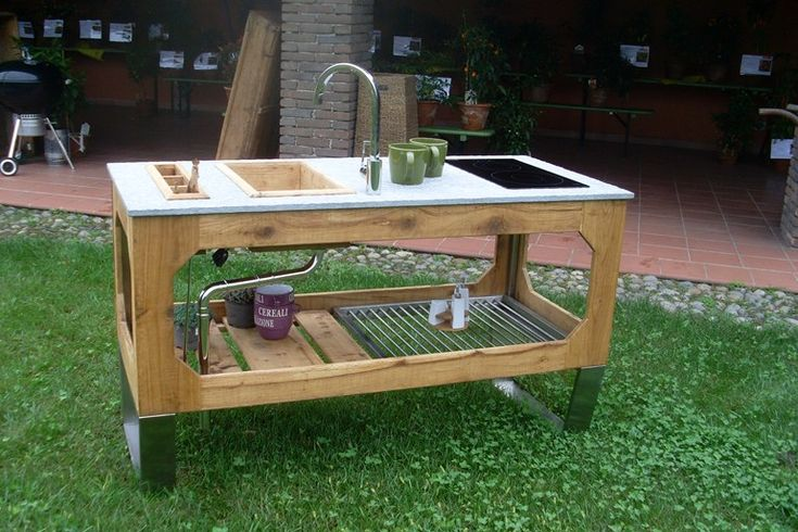 Best 25 modern outdoor kitchen ideas on pinterest - Ulaelu outdoor kitchen ...