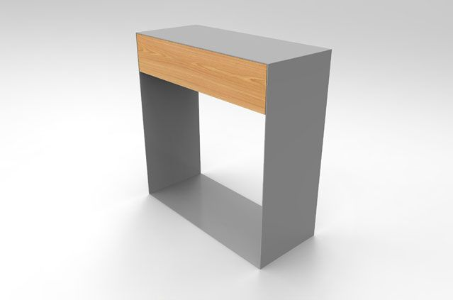 SENKKI FURNITURE V70 – Insustrial Hall Console Table | Contemporary Storage | Hand crafted | Bespoke Hallway table