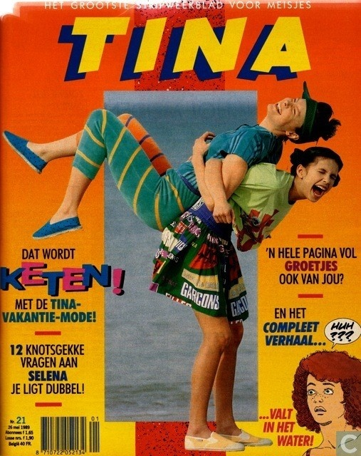 Tina a girls magazine I used to read when I was a little girl.